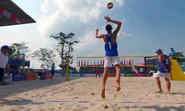 هورسان رامسر  والیبال ساحلی را توسعه میدهد