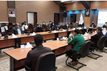 برگزاری جلسه هم اندیشی هیات انجمنهای ورزشی استان اردبیل