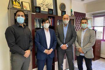 دیدار اعضای هیات مدیره انجمن صنفی باشگاه داران با معاون وزیر ورزش