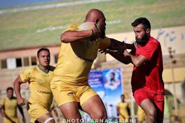 مسابقات مهارت های راگبی و آمادگی جسمانی جام فجر در شیراز برگزار شد