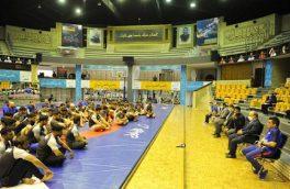 بازدید وزیر ورزش از اردوی تیم های ملی کشتی
