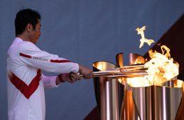 حمل مشعل المپیک بدون حضور تماشاگر