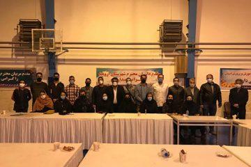 گردهمایی سرپرست هیئت بسکتبال آذربایجان غربی با مسئولین حوزه ها و شهرستان ها