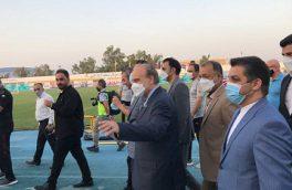 حضور وزیر ورزش در اردوی تیم ملی با ارزش و نشان دهنده نگاه ویژه به تیم ملی فوتبال است