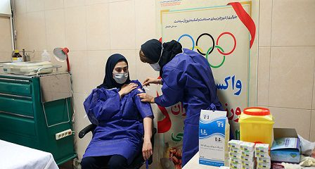 دو شنبه مرحله دوم واکسیناسیون کاروان المپیکی ایران انجام می شود