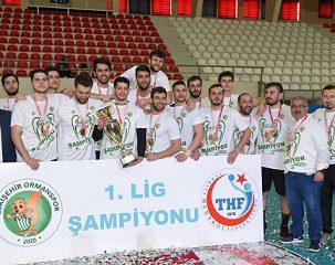 قهرمانی هندبالیست های ایرانی در لیگ ترکیه