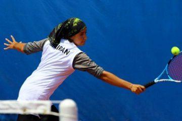قهرمانی صفی در مسابقات تور جهانی سطح سه تنیس بانوان