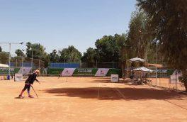 برگزاری رقابت های تور جهانی تنیس جوانان در شیراز