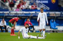 وضعیت مصدومیت بنزما در بازی مقابل بلغارستان