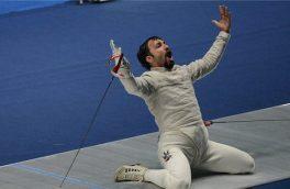 عابدینی:با وجود درد دستم تمام تلاشم را میکنم که در المپیک مدال بگیرم