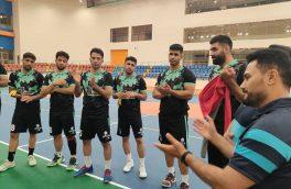 اخرین تمرین نیروی زمینی پیش از اولین بازی در رقابت های قهرمانی باشگاه های آسیا