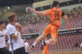 سومین پیروزی نماینده هندبال ایران در جام باشگاه های آسیا