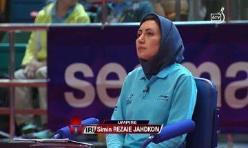 قضاوت داور ایرانی در یک چهارم نهایی المپیک