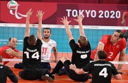 شروع قاطع والیبال در پارالمپیک با پیروزی مقابل آلمان