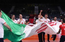 قهرمانی ملی پوشان والیبال نشسته در پارالمپیک توکیو