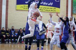 برگزاری رقابت های گروه دوم لیگ برتر بسکتبال بانوان