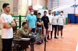 نشست و دیدار مدیر عامل نیروی زمینی ارتش با کادر فنی و بازیکنان تیم بسکتبال صبح امروز برگزار شد