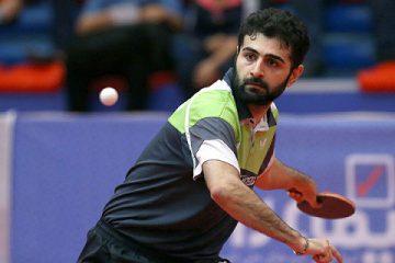 پایان کار تیم ملی تنیس روی میز مردان با کسب مقام پنجم در آسیا